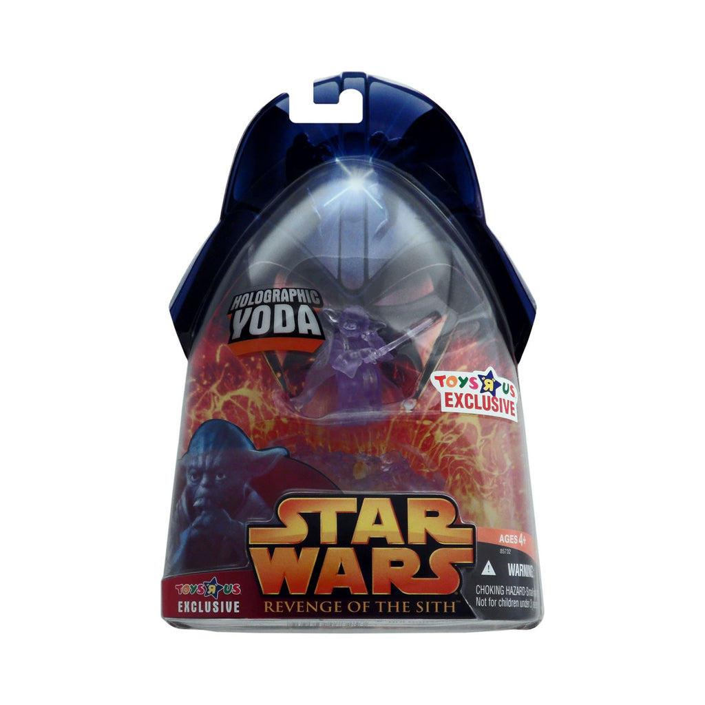 "Toys ""R"" Us Exclusive Star Wars: Revenge of the Sith Holographic Yoda"