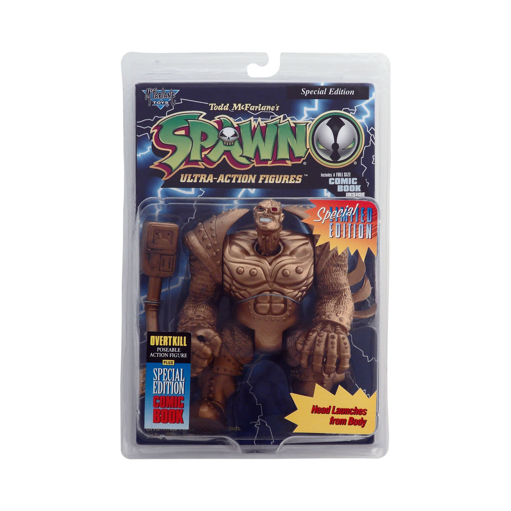 Special Edition Gold Overtkill from Todd McFarlane's Spawn