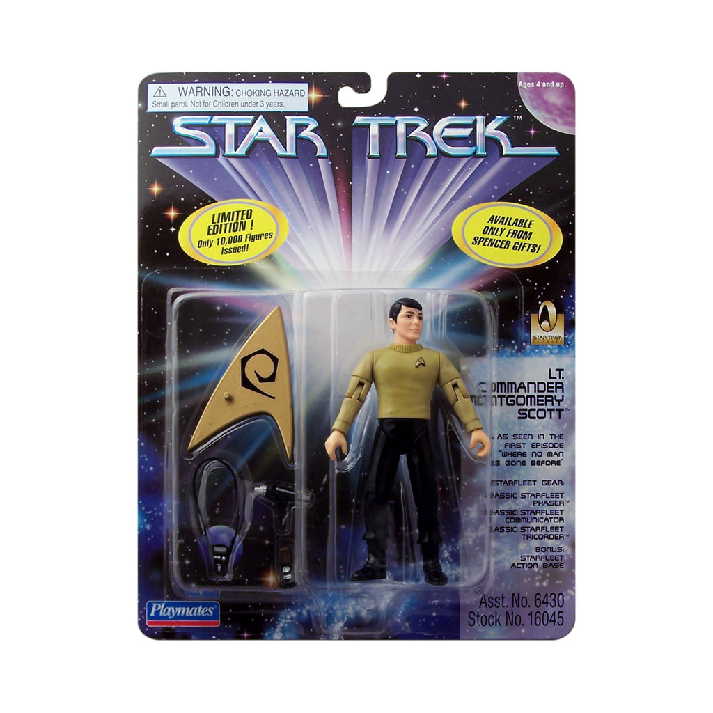 Spencer Gifts Exclusive Lt. Commander Montgomery Scott from Star Trek