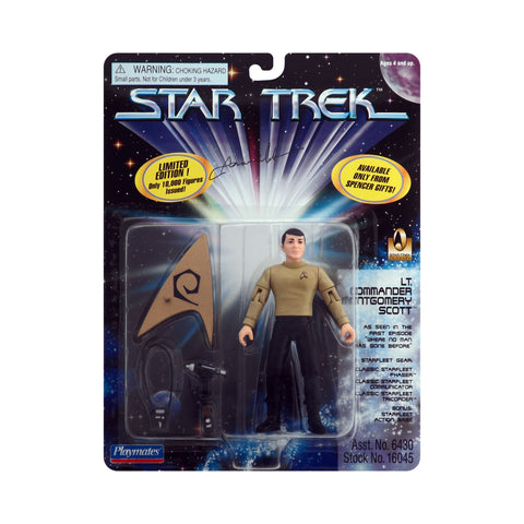 Autographed Lt. Commander Montgomery Scott from Star Trek