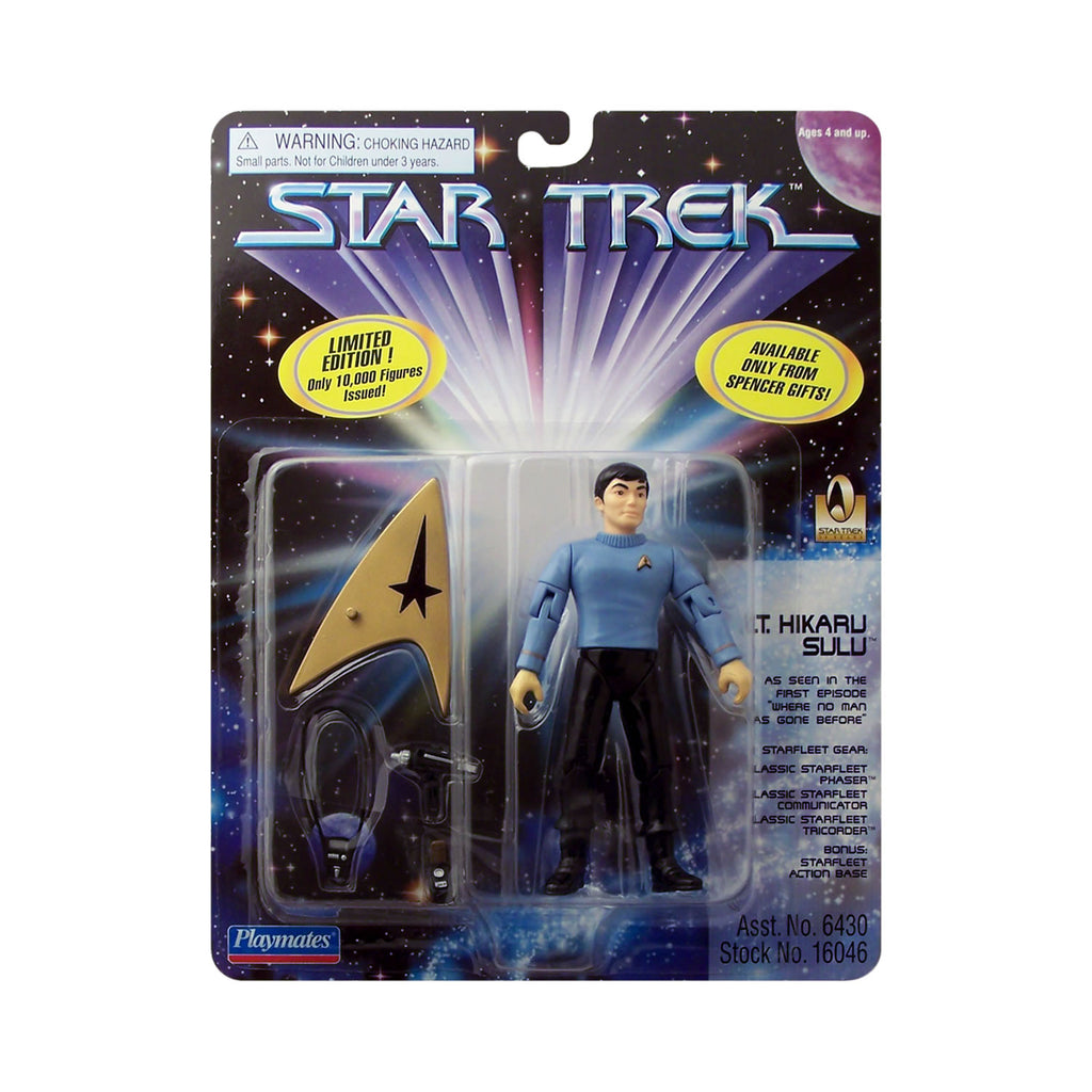 Spencer Gifts Exclusive Lt. Hikaru Sulu from Star Trek
