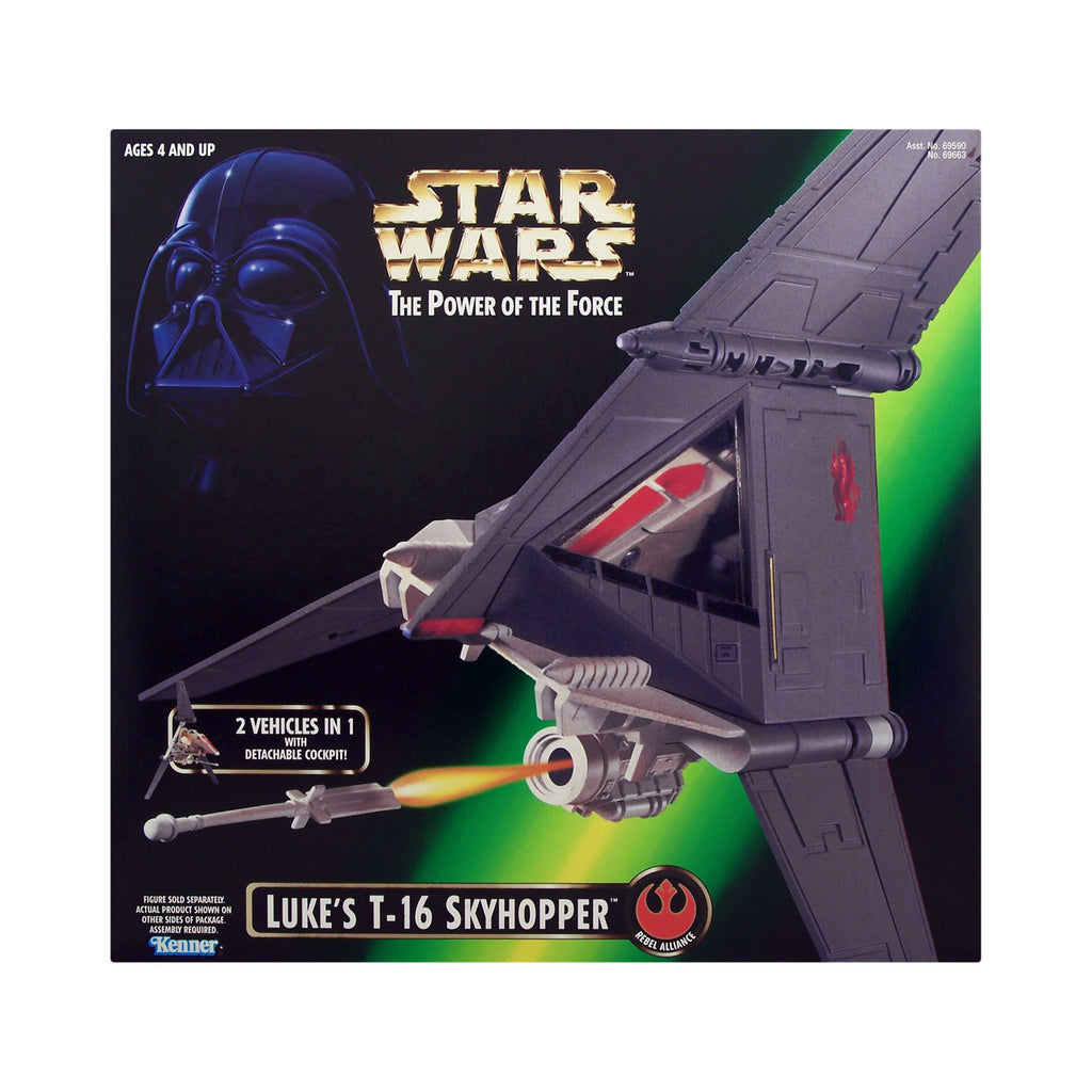 Star Wars: Power of the Force Luke's T-16 Skyhopper