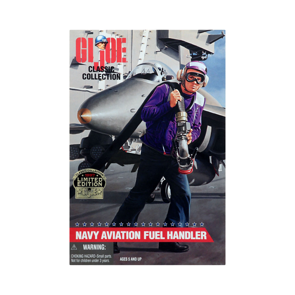 G.I. Joe Classic Collection Navy Aviation Fuel Handler