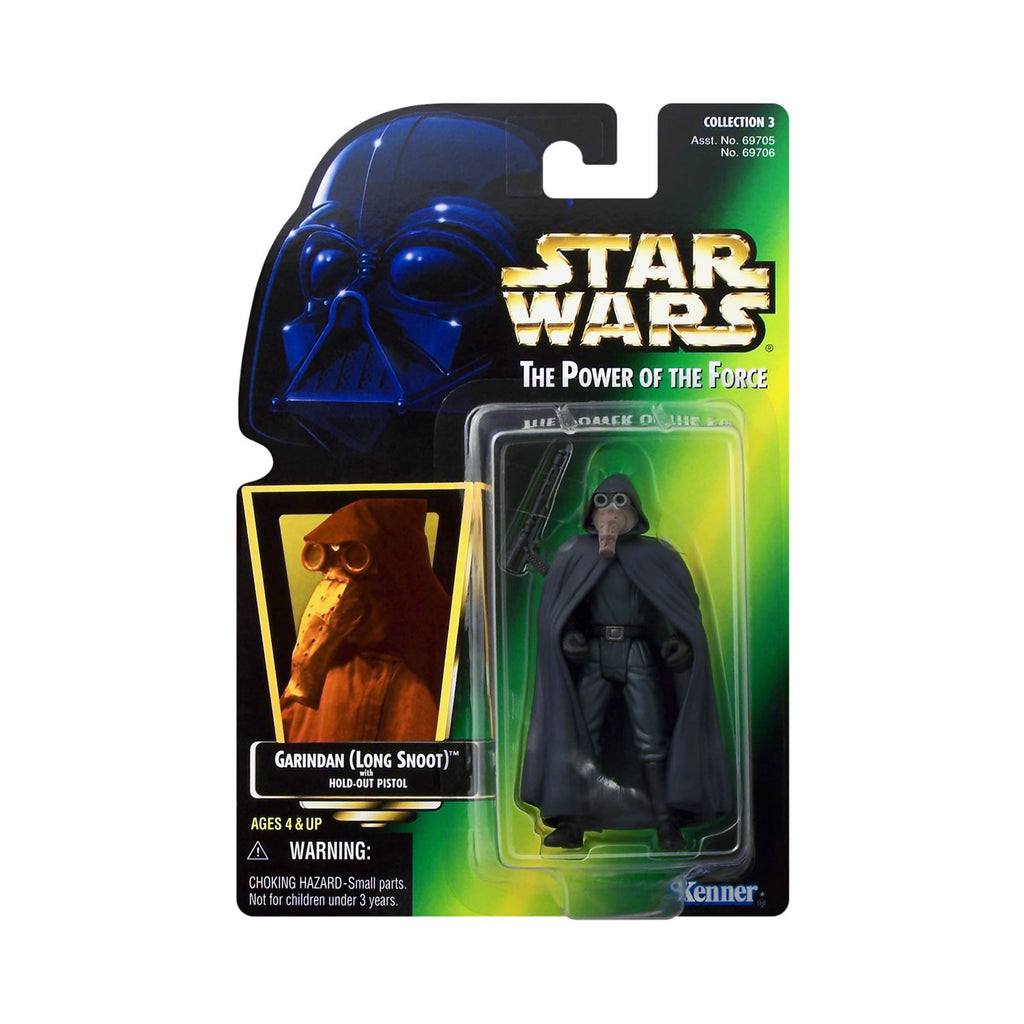 Star Wars: Power of the Force Garindan (Long Snoot) (hologram card)