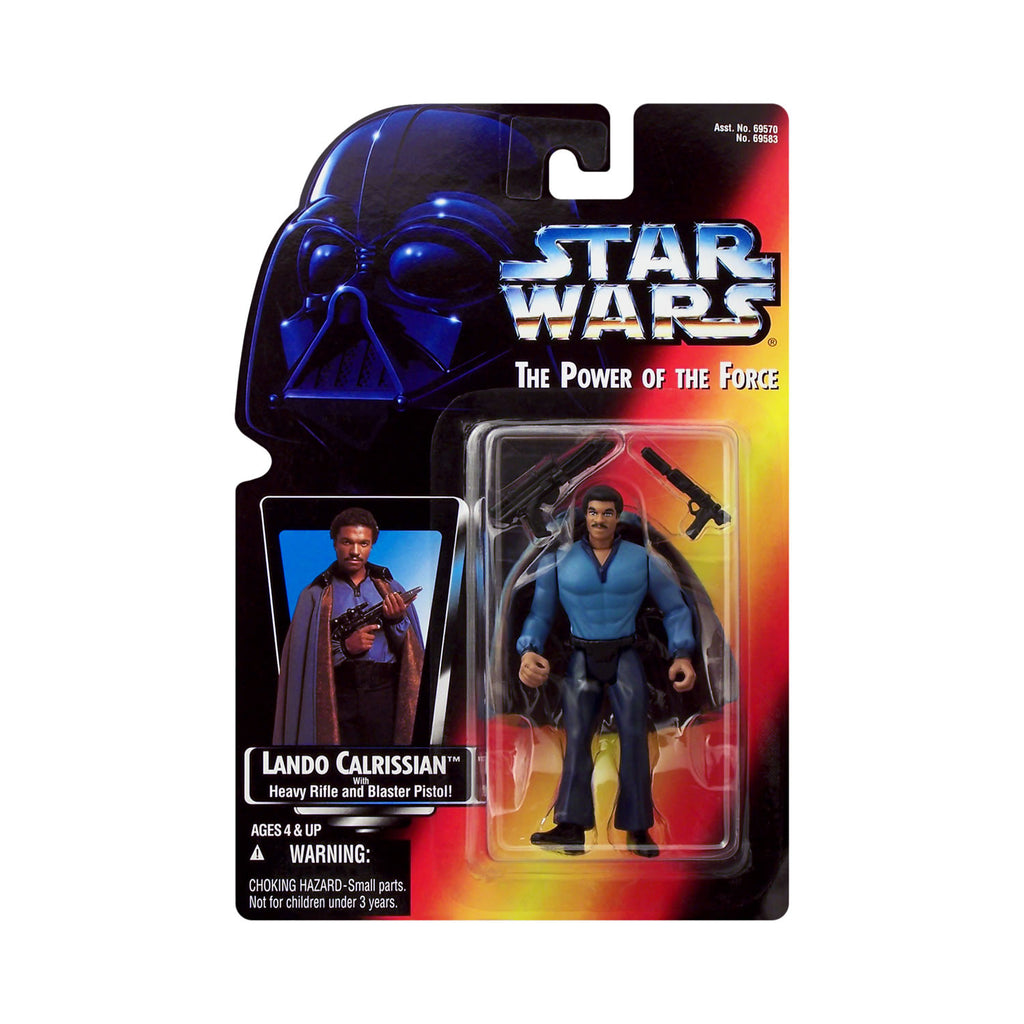 Star Wars: Power of the Force Lando Calrissian (red card)