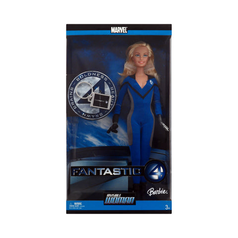 Barbie as Invisible Woman from the Fantastic Four