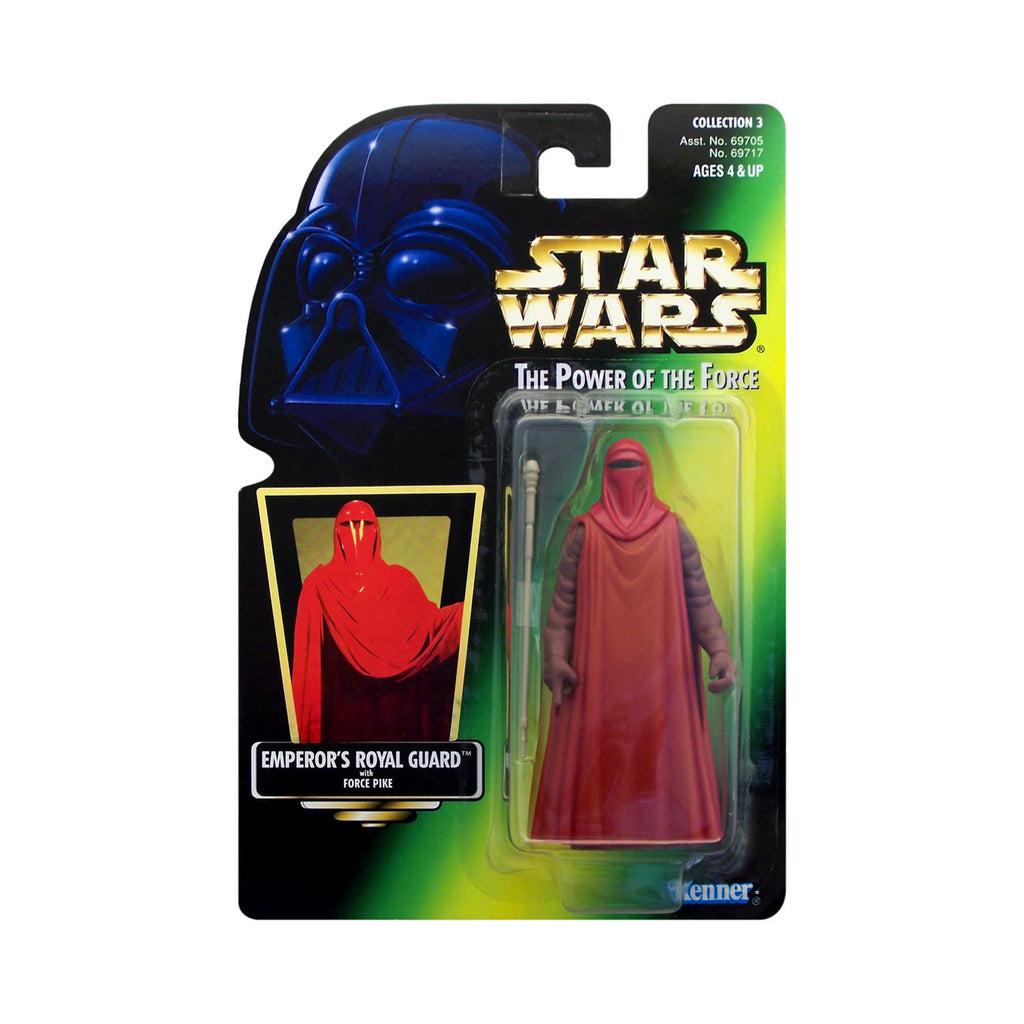 Star Wars: Power of the Force Emperor's Royal Guard (hologram card)