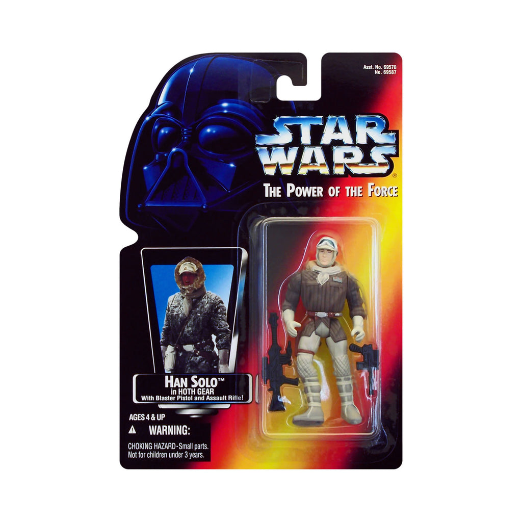 Star Wars: Power of the Force Han Solo in Hoth Gear (red card)