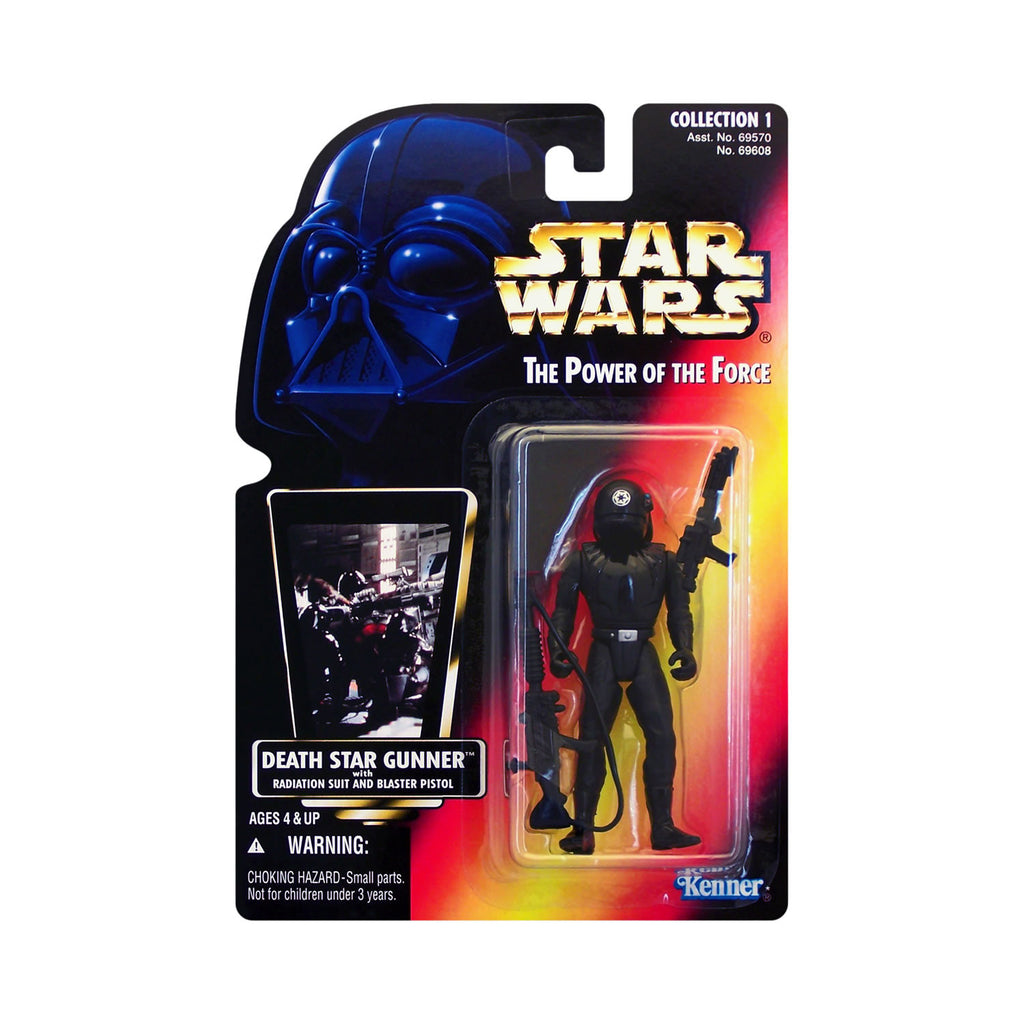 Star Wars: Power of the Force Death Star Gunner (red card)