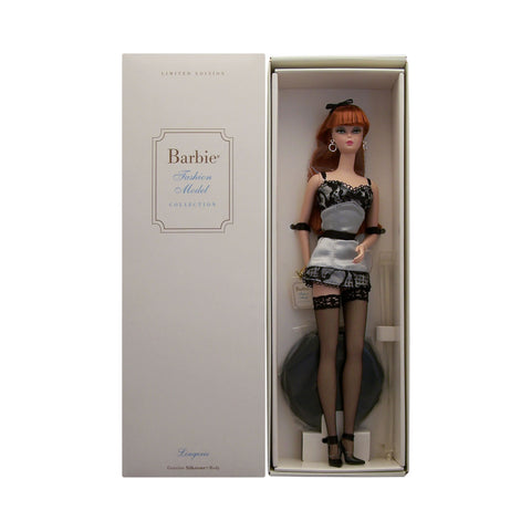 Fashion Model Collection Lingerie Barbie (red hair)