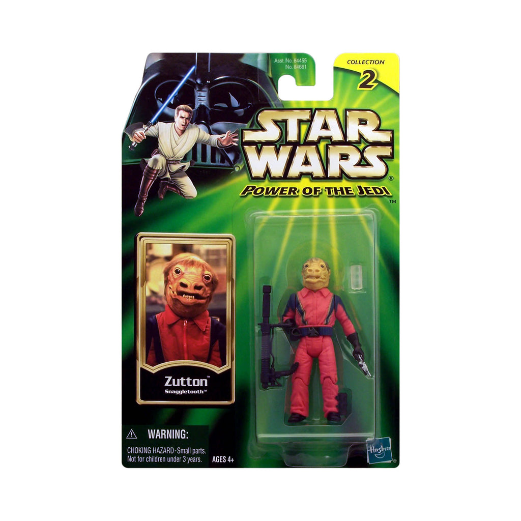 "Star Wars: Power of the Jedi Zutton ""Snaggletooth"""