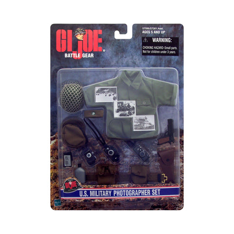 G.I. Joe Battle Gear U.S. Military Photographer Set