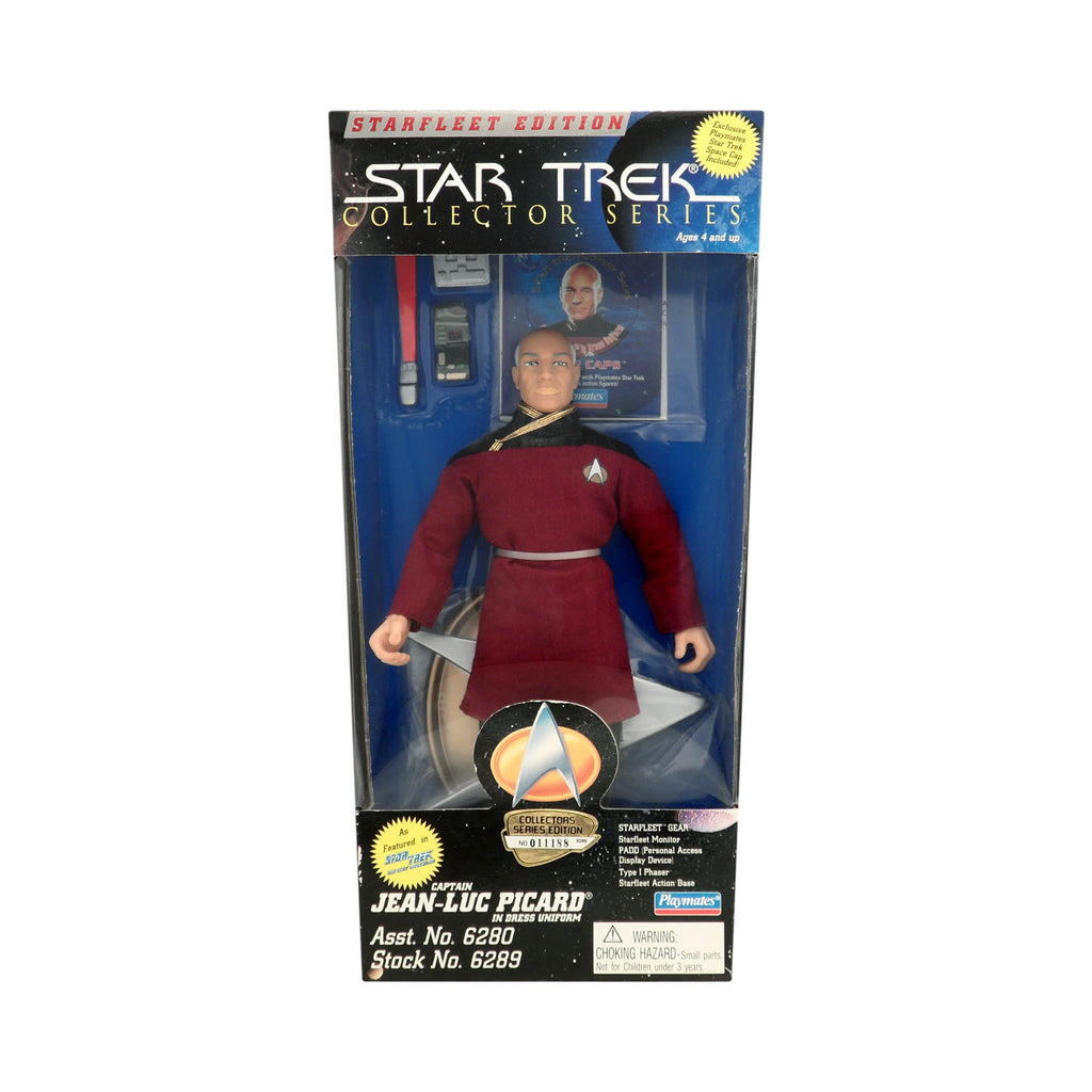 Star Trek Collector Series Captain Jean-Luc Picard in Dress Uniform