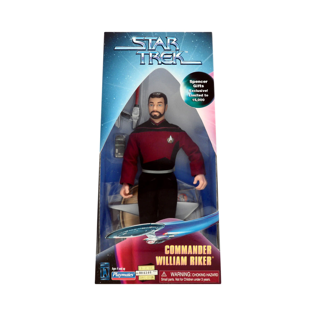 Spencer Gifts Exclusive Commander William Riker
