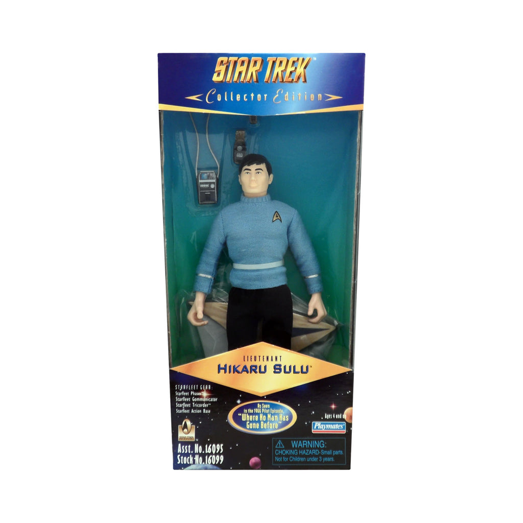 "Star Trek Collector Edition Lieutenant Hikaru Sulu as seen in ""Where No Man Has Gone Before"""