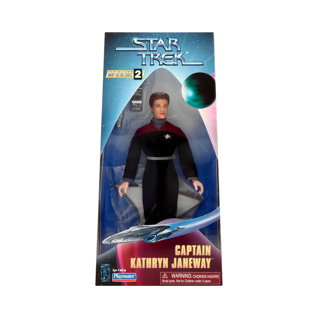 Warp Factor Series 2 Captain Kathryn Janeway from Star Trek