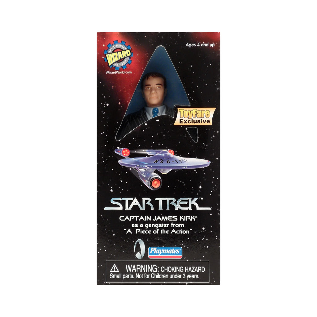 ToyFare Exclusive Captain James Kirk as a Gangster