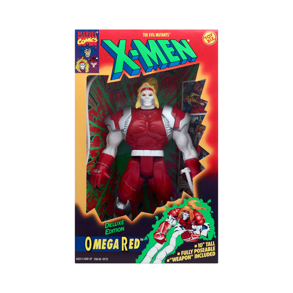 X-Men Deluxe Edition Omega Red