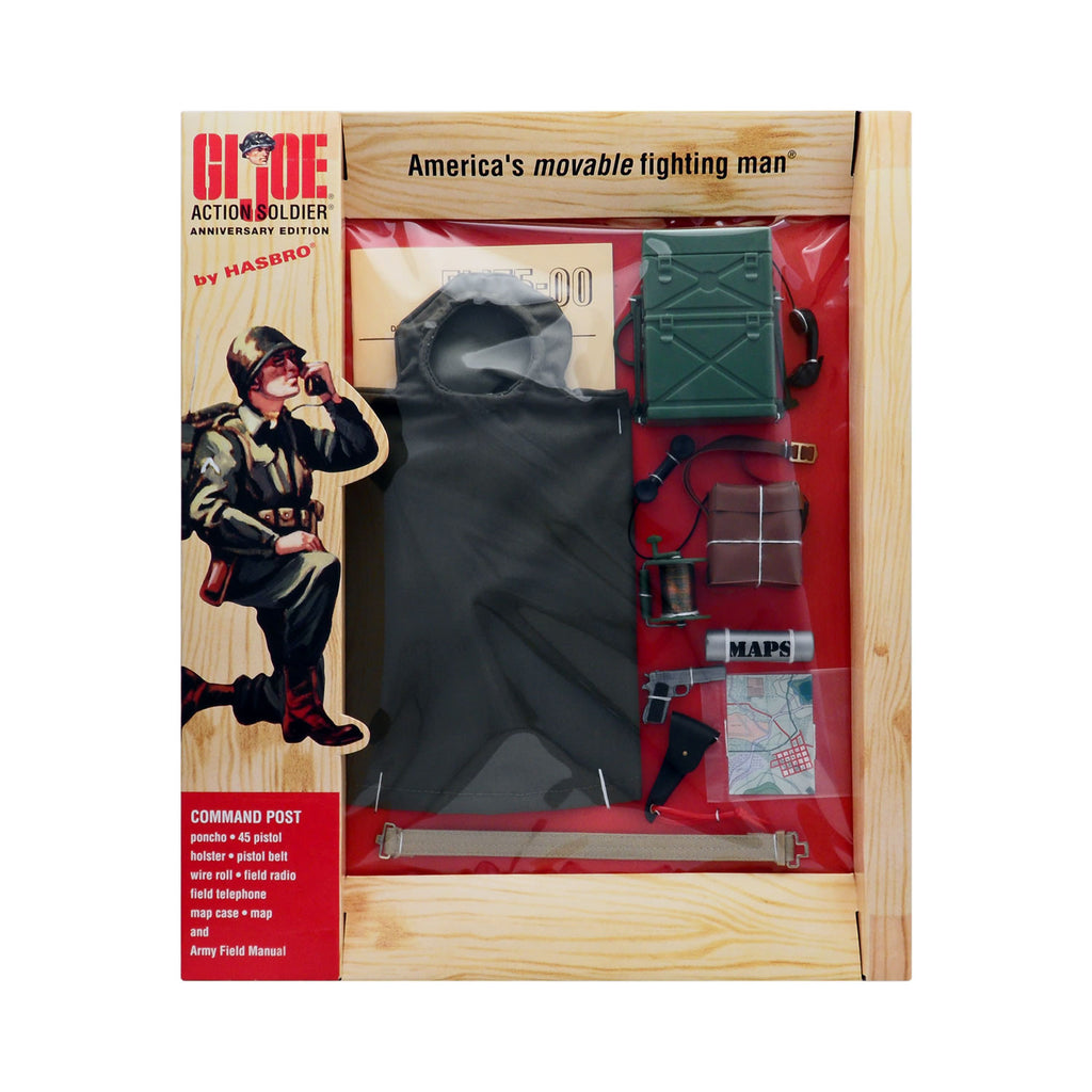 G.I. Joe 40th Anniversary Action Soldier Command Post Communications Set