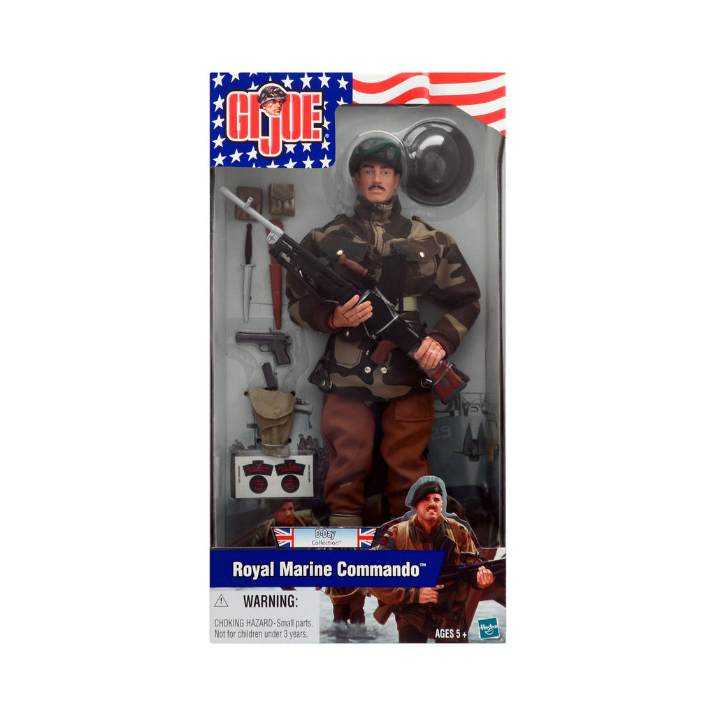 G.I. Joe D-Day Collection Royal Marine Commando