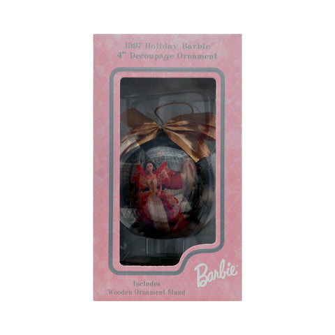 1997 Holiday Barbie Decoupage Ornament