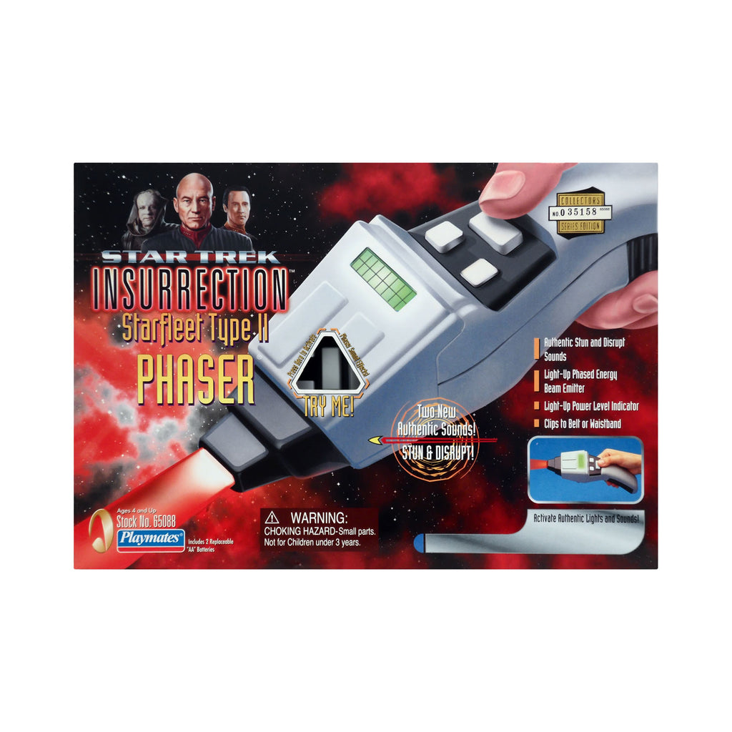 Starfleet Type II Phaser from Star Trek: Insurrection