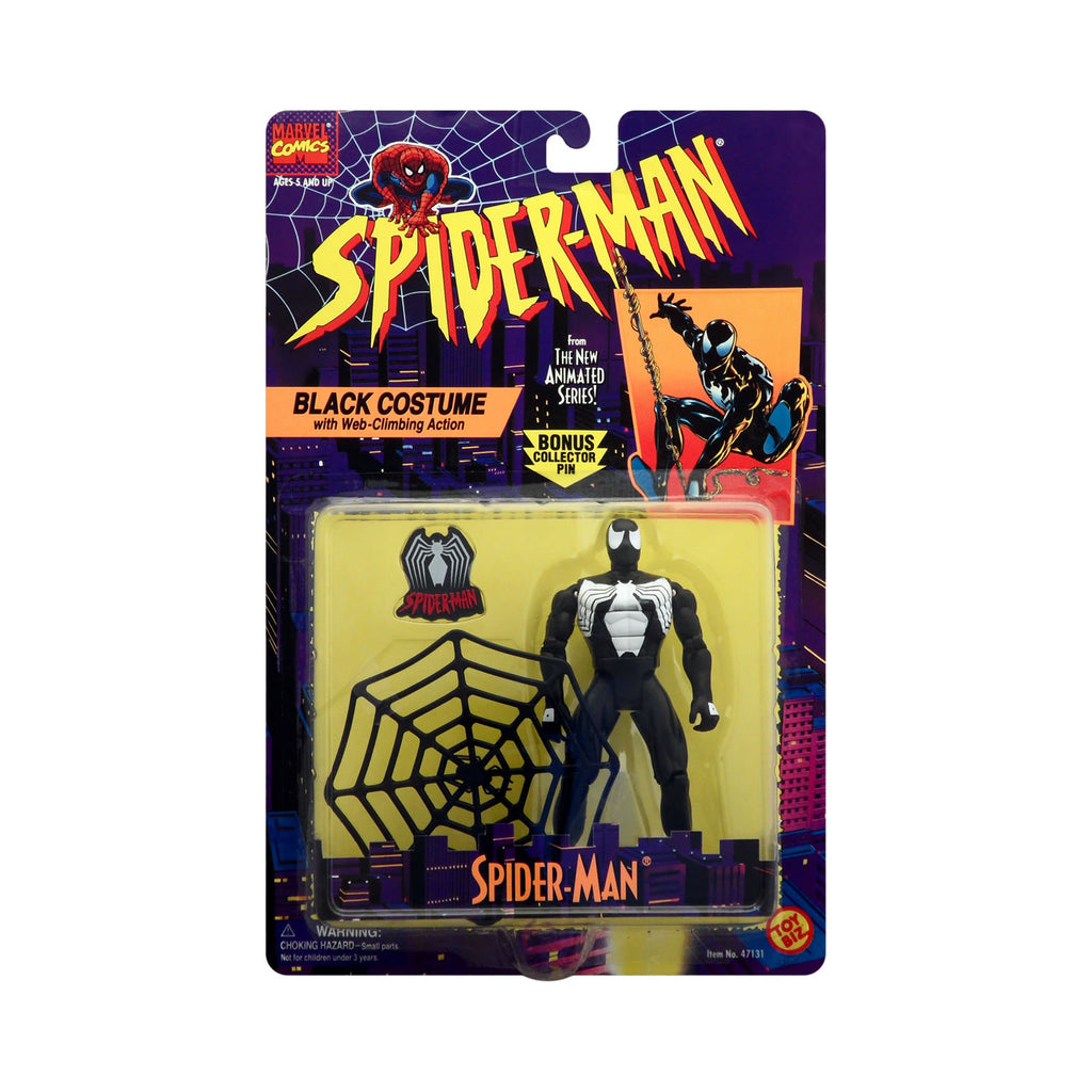 Black Costume Spider-Man from the Animated Series