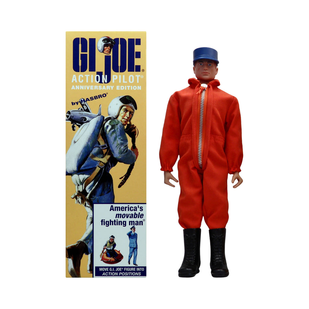 G.I. Joe 40th Anniversary Action Pilot (orange jumpsuit)