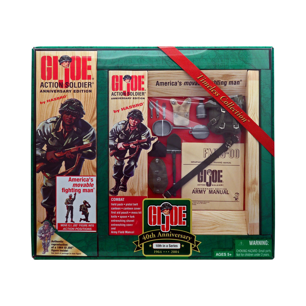 G.I. Joe 40th Anniversary Action Soldier with Combat Field Pack 10th Set in a Series (African-American)