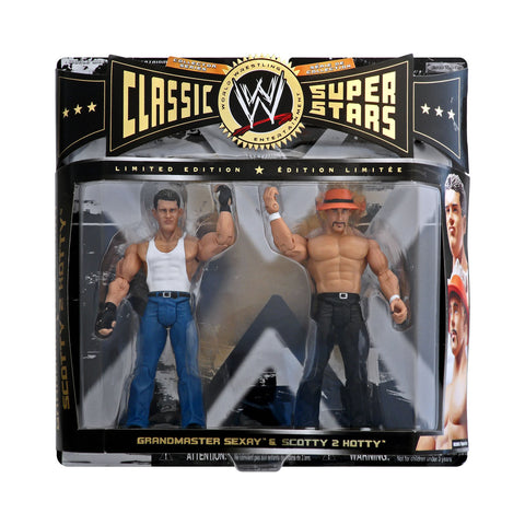 Classic WWE Superstars Grandmaster Sexay & Scotty 2 Hotty