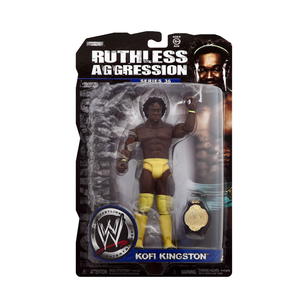 WWE Ruthless Aggression Series 36 Kofi Kingston