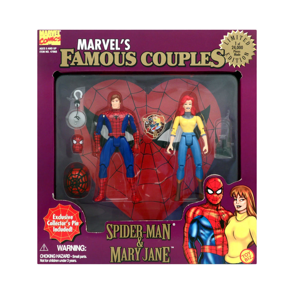 Marvel's Famous Couples Spider-Man & Mary Jane