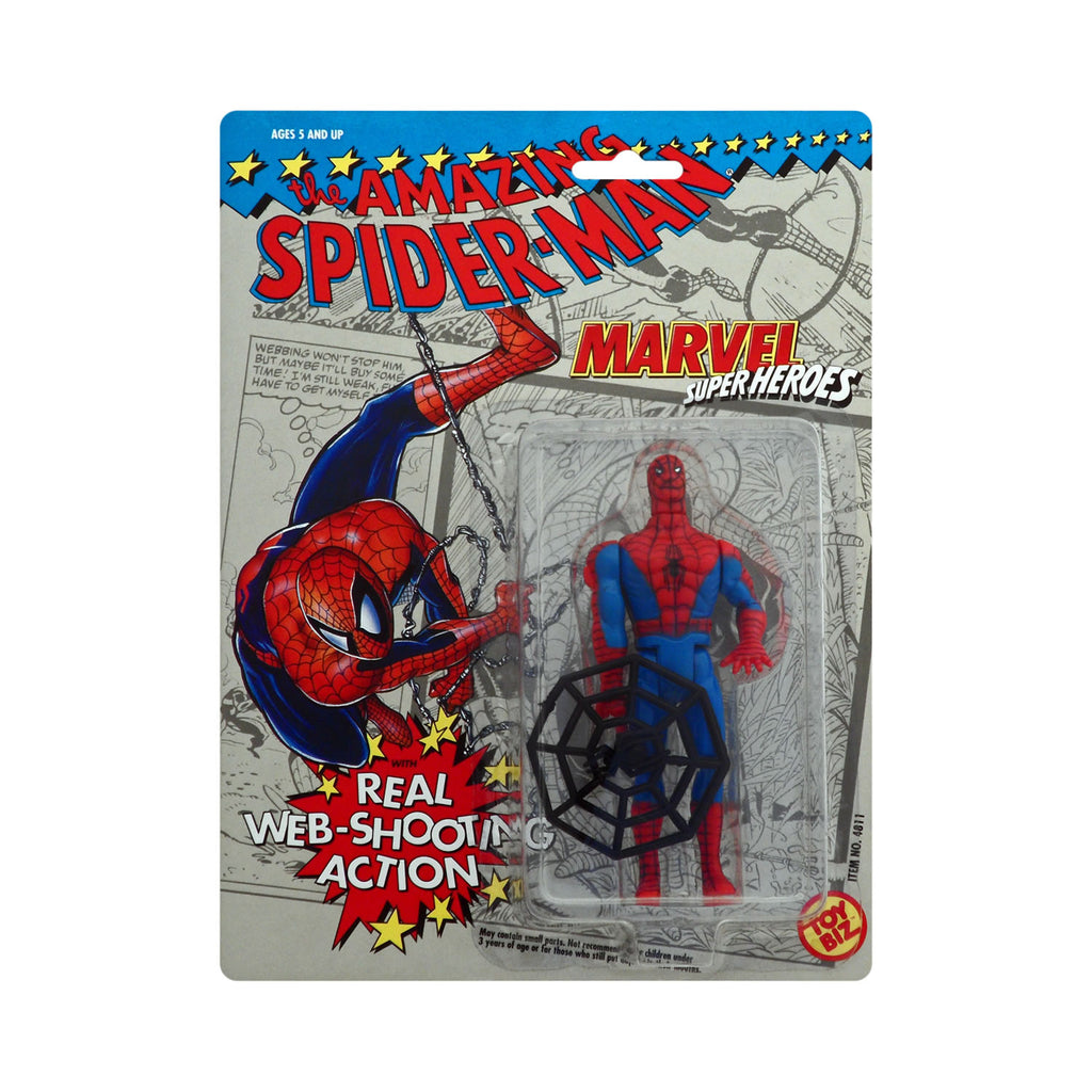 Marvel Superheroes Spider-Man with Web-Shooting Action
