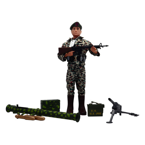G.I. Joe Green Beret Machine Gun Outpost (loose)