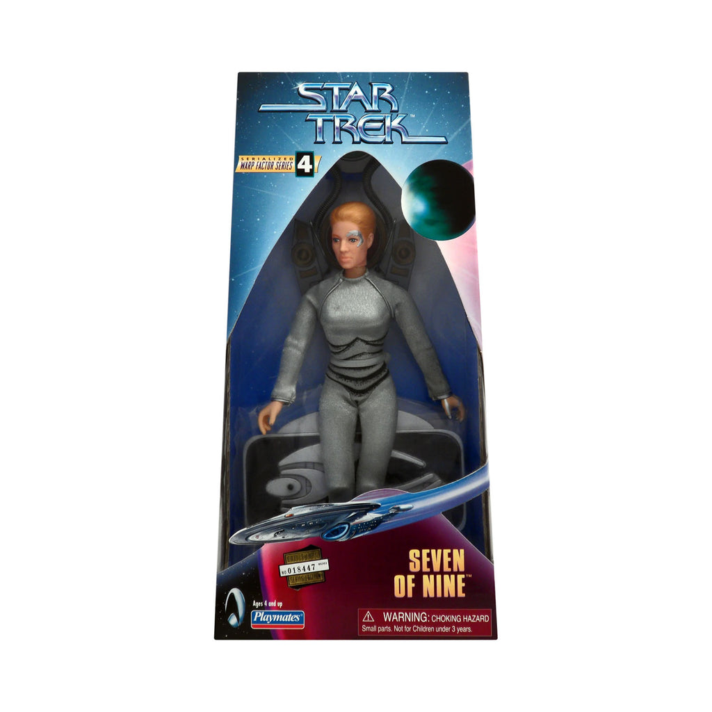 Warp Factor Series 4 Seven of Nine from Star Trek