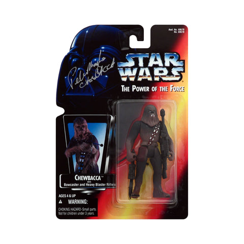 Autographed Star Wars: Power of the Force Chewbacca