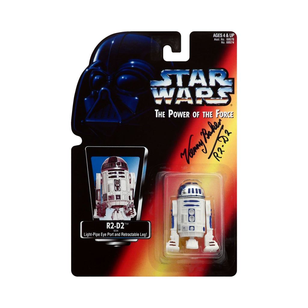 Autographed Star Wars: Power of the Force R2-D2