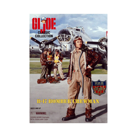 G.I. Joe Classic Collection B-17 Bomber Crewman