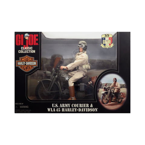 G.I. Joe Classic Collection U.S. Army Courier & WLA 45 Harley-Davidson