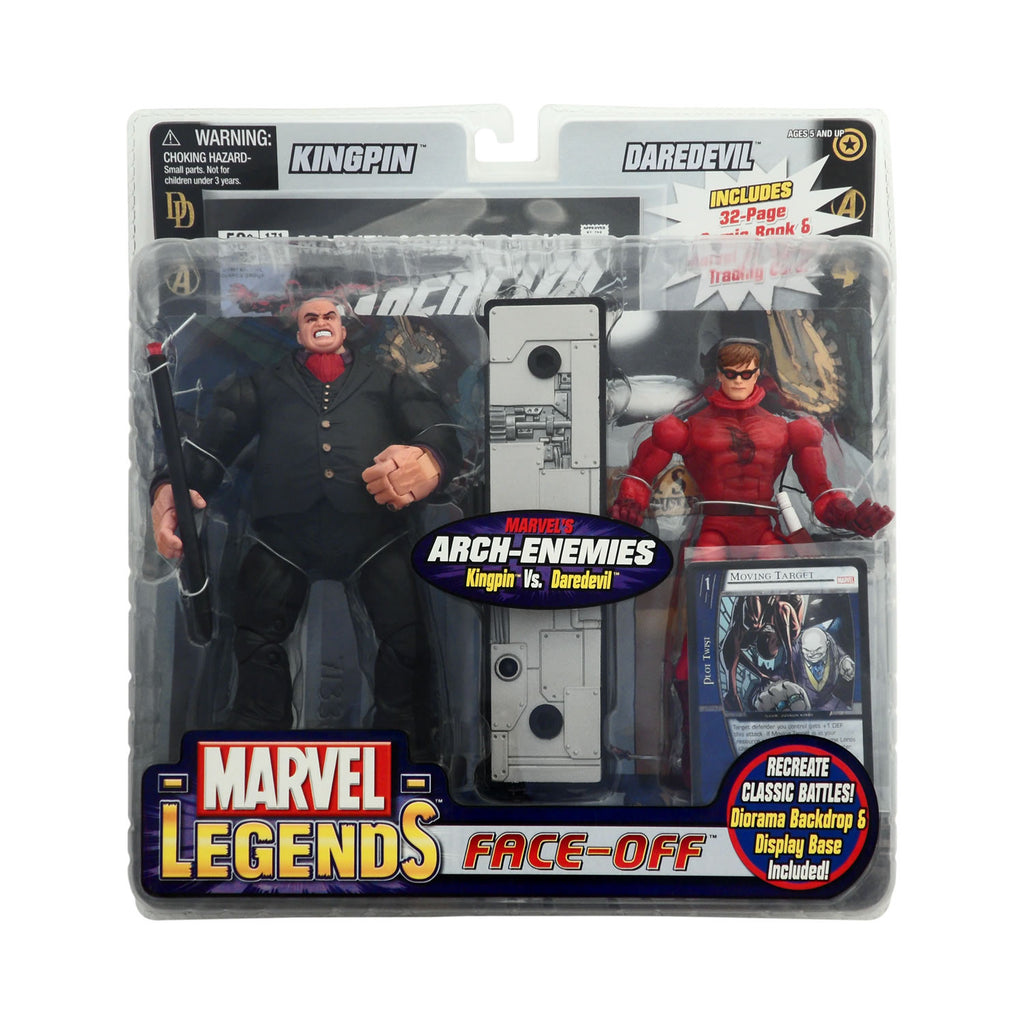 Marvel Legends Face-Off Kingpin vs. Daredevil Variant