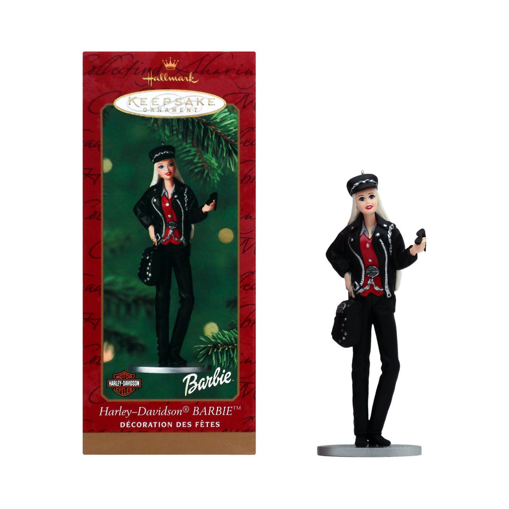 Hallmark Keepsake Ornament Harley-Davidson Barbie