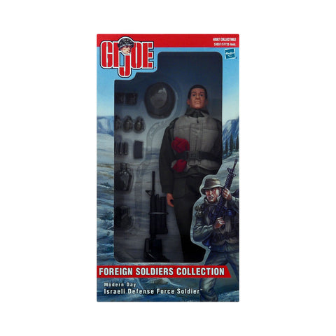 G.I. Joe Foreign Soldiers Collection Modern Day Israeli Defense Force Soldier