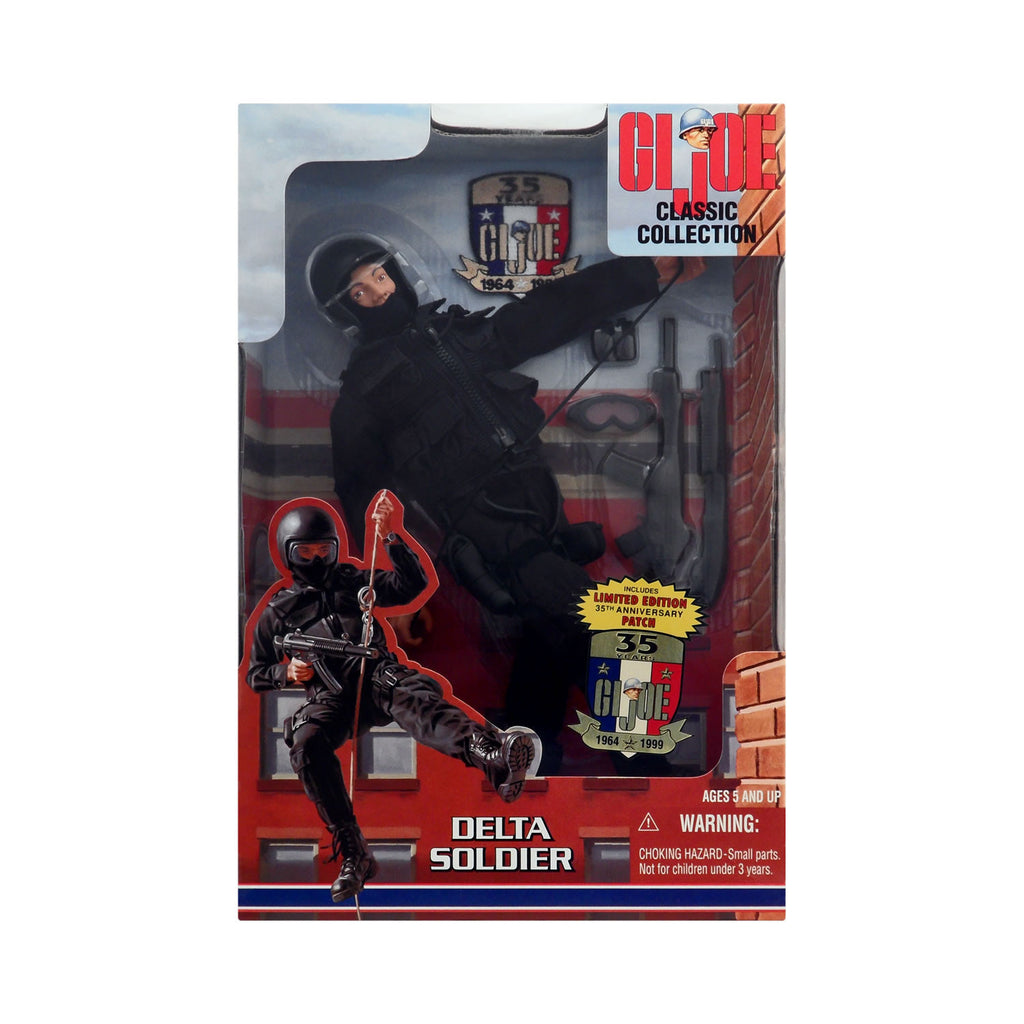 G.I. Joe Classic Collection Delta Soldier with 35th Anniversary Patch