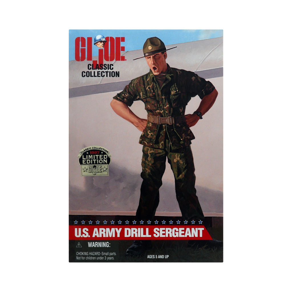 G.I. Joe Classic Collection U.S. Army Drill Sergeant (African-American)