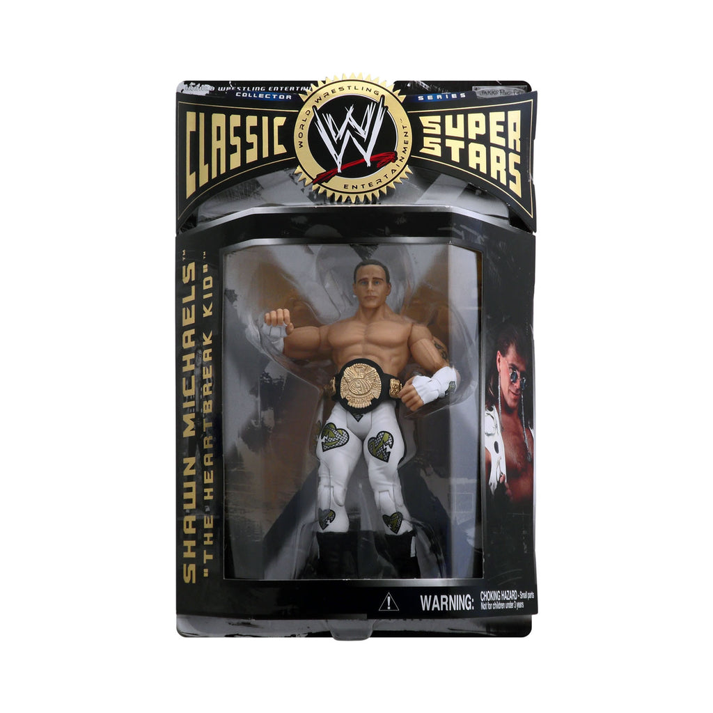 "Classic WWE Superstars Series 1 Shawn Michaels ""The Heartbreak Kid"""