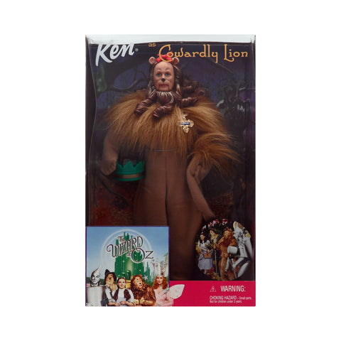 Ken as the Cowardly Lion from the Wizard of Oz