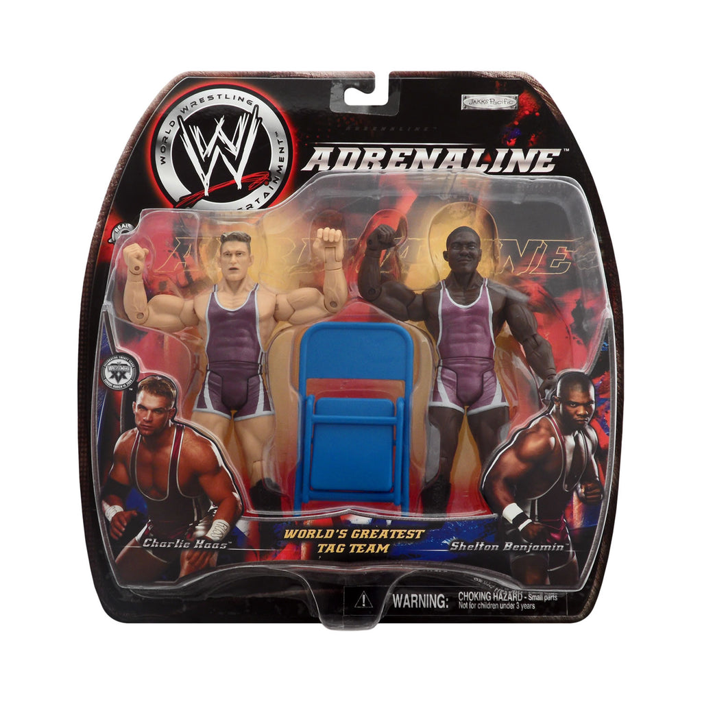 WWE Adrenaline Series Five Charlie Haas & Shelton Benjamin