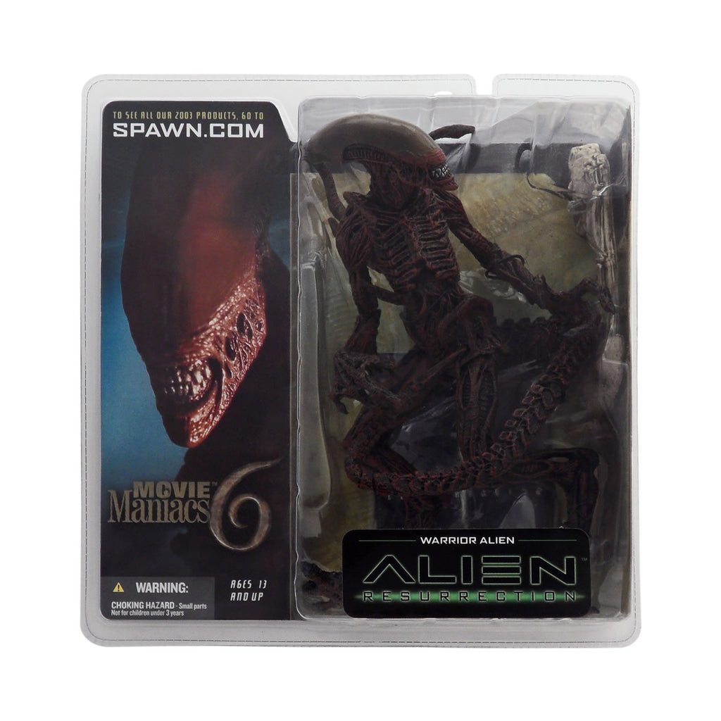 Warrior Alien from Movie Maniacs Series 6