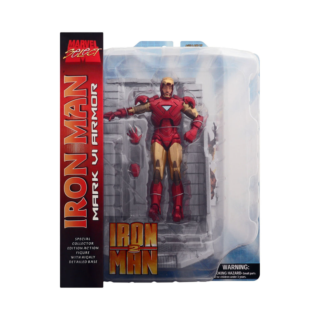 Marvel Select Mark VI Iron Man from Iron Man 2