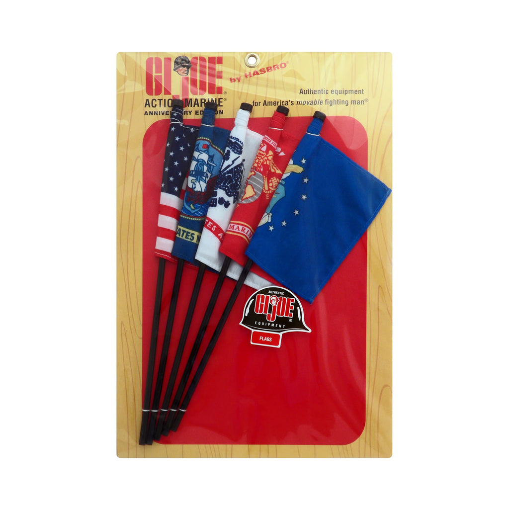 G.I. Joe 40th Anniverasry Action Marine Communications Flag Set